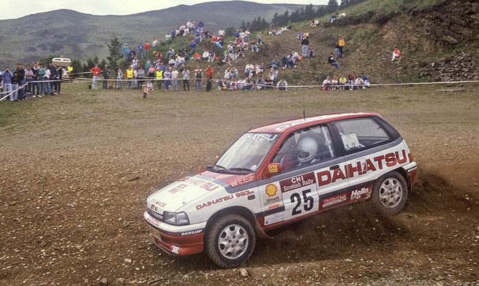 Znalezione obrazy dla zapytania Daihatsu Charade GTti Rally