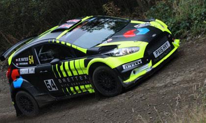Rhys Yates receives Brettex sponsorship boost with M-Sport built Fiesta R5 for BRC assault Photo