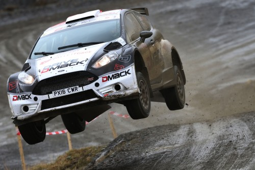 Elfyn Evans plays his cards right in Wales Photo