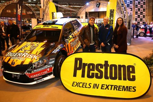 British Rally Championship welcomes Prestone as new title partner Photo
