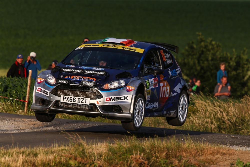 History-making Cronin conquers Belgium - MSA British Rally ...