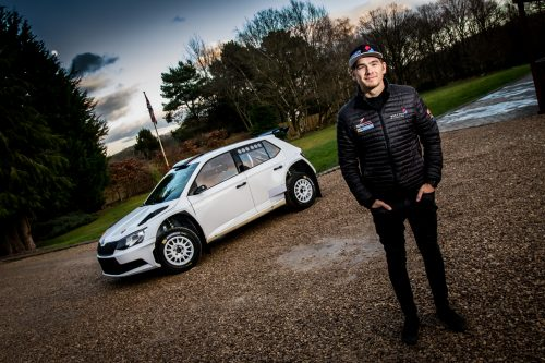 Yates confirms BRC title tilt with new Skoda Photo