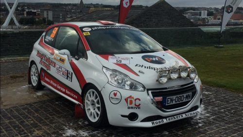 Wilson steps into the Junior BRC ring Photo