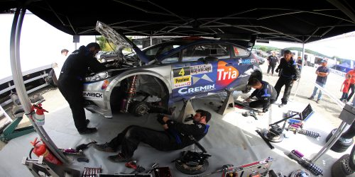 Just what does it take to build a Fiesta R5? Photo