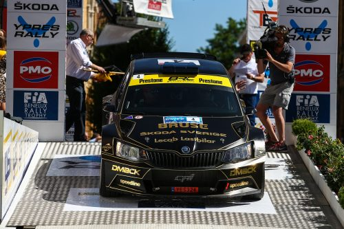 Cameras at the ready as BRC returns to global TV screens Photo