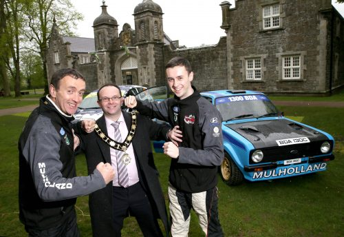 Council announces sponsorship of John Mulholland Motors Ulster Rally Photo