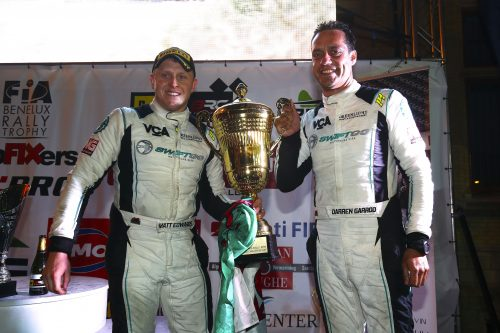 Edwards does the BRC double in Belgium Photo