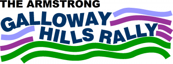 The Armstrong Galloway Hills Rally Logo