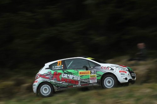 Gallagher going for gold in BRC Photo