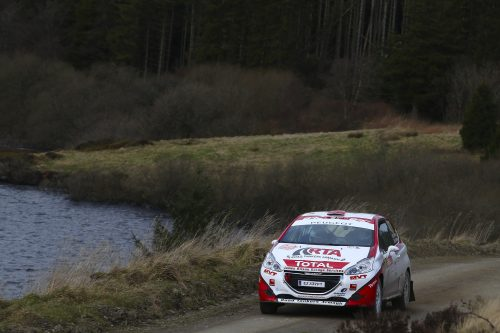 Wilson wins his first Junior BRC event Photo