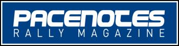 Pacenotes Rally Magazine Logo