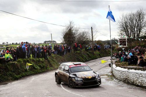 McCormack's British Rally Championship chances boosted by West Cork result Photo