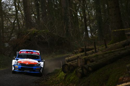 Fortune favours the brave as BRC speeds into Kielder Forest Photo