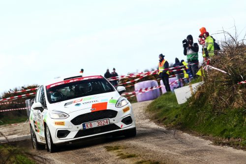 Gallagher and Williams join EDSL Sport for Ypres Rally assault Photo