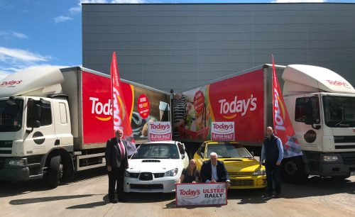 Today's announced as Ulster Rally title sponsor Photo