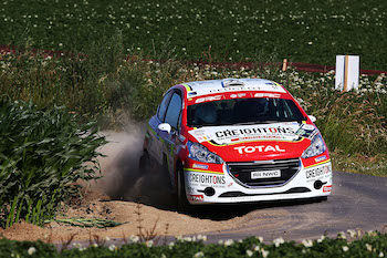Creighton nominated for Young Rally Driver of the Year Photo