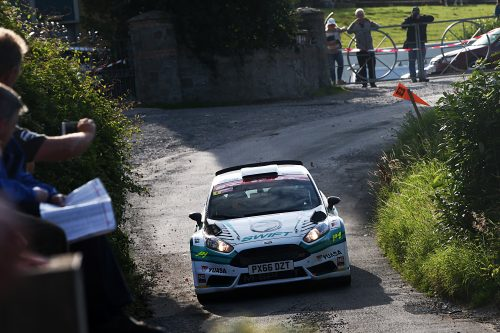 Edwards' title aspirations kick-up a gear after Ulster Rally win Photo