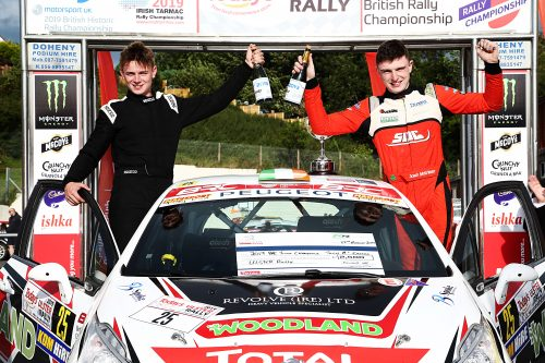 McErlean seals Junior BRC title on home soil Photo