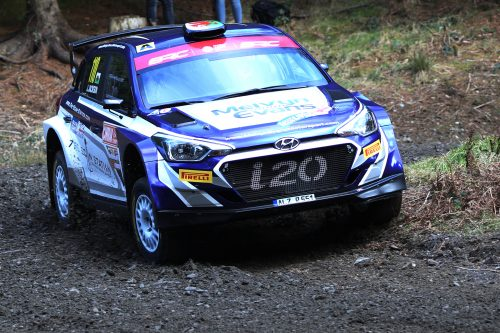 Hyundai drive for McErlean on Wales Rally GB Photo