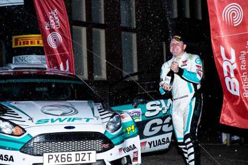 Edwards makes it back-to-back British Rally Championship titles Photo