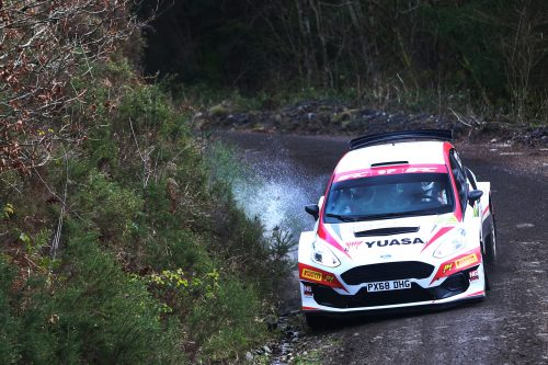 Edwards storms to Cambrian Rally win Photo