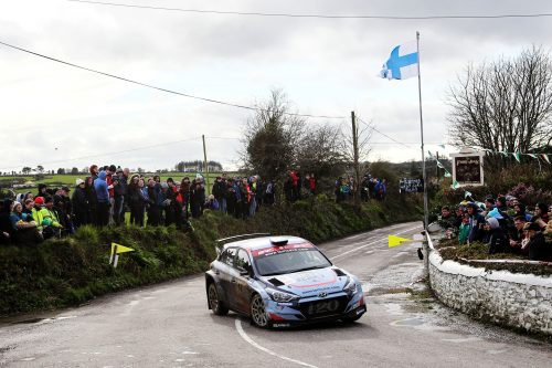 Clonakility calling for the British Rally Championship Photo