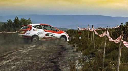 Hirst makes history by winning first eBRC round Photo