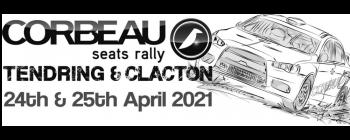 Corbeau Seats Tendring & Clacton Rally Logo
