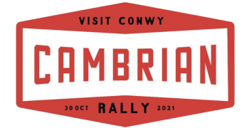 Visit Conwy Cambrian Rally Logo