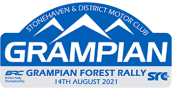 Grampian Forest Stages Logo
