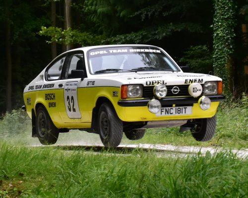 McLaren brings historic Opel to the British Rally Championship Photo
