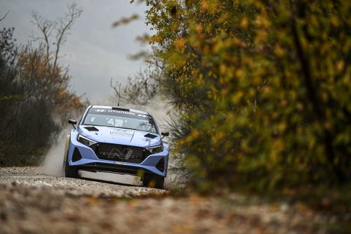 Junior British Rally Champion – Hyundai Motorsport i20 Rally2 WRC prize drive Photo