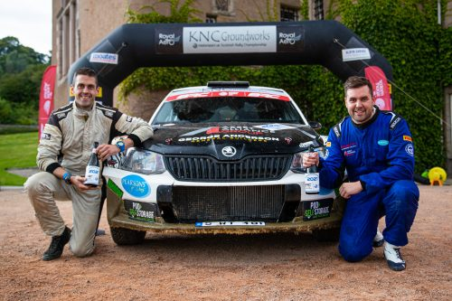 BRC National Title Round up: Pearson on point at the Grampian Photo